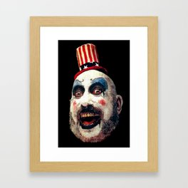 Captain Spaulding Framed Art Print
