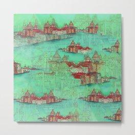 Venetian Green Metal Print