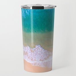Ariel Beach Scene Travel Mug