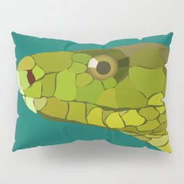 Green Mamba Pillow Sham