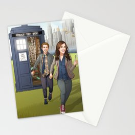 Fitzsimmons - Running Through Time and Space Stationery Cards