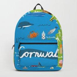 Cornwall Map Backpack
