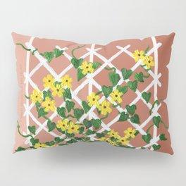 Black-Eyed Susans on Browns Pillow Sham