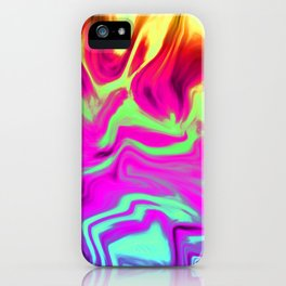 Chasing Fire iPhone Case