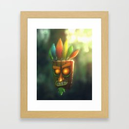 Aku Aku Framed Art Print
