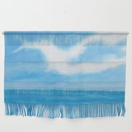 White Dove Sky Wall Hanging