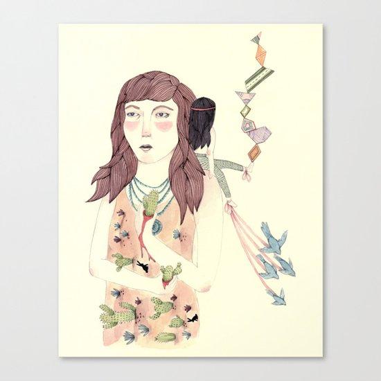 Pricked Canvas Print