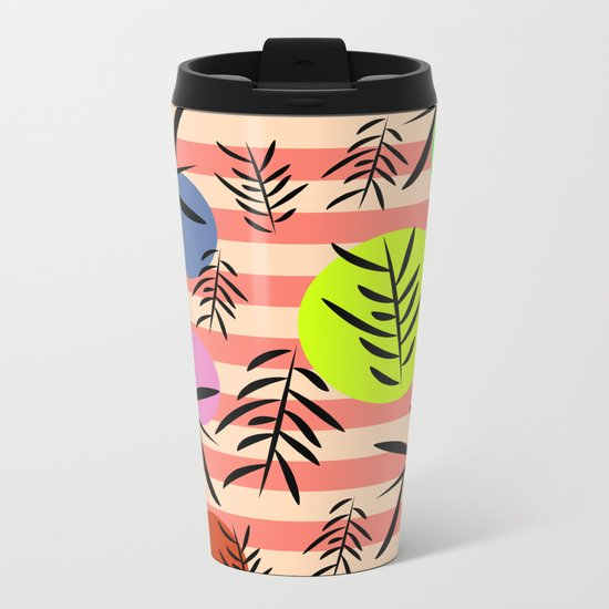 Happy leaf fall Metal Travel Mug