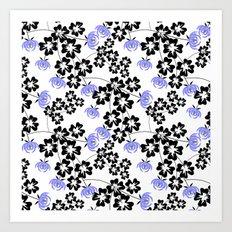 Floral pattern. Art Print