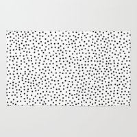 dots Area & Throw Rugs featuring Dots.. by Priscila Peress