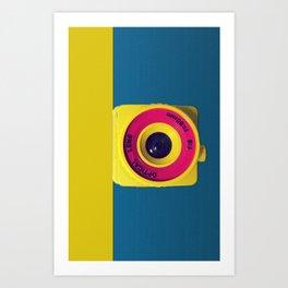 Lomo Camera HOLGA Art Print