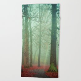 Autumn Wanderlust Beach Towel