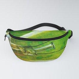 light bulb - think green Fanny Pack