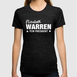 Elizabeth Warren for Pres in 2020 T-shirt