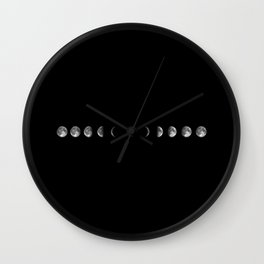 Phase of The Moon Wall Clock