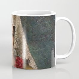 Spanish Beauty with Lace Mantilla and Comb by Jesus Helguera Coffee Mug