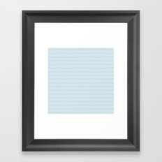 U12: postal blue Framed Art Print