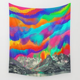 Skyfall, Melting Northern Lights Wall Tapestry