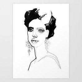 Mono Art Print