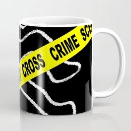 Crime Scene Chalk Mark Coffee Mug