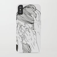 introvert iPhone & iPod Cases featuring Introvert 1 by Heidi Banford