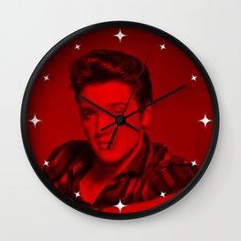 Elvis Presley - Celebrity (Photographic Art) Wall Clock