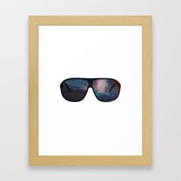 """Space Shades"" Framed Art Print"