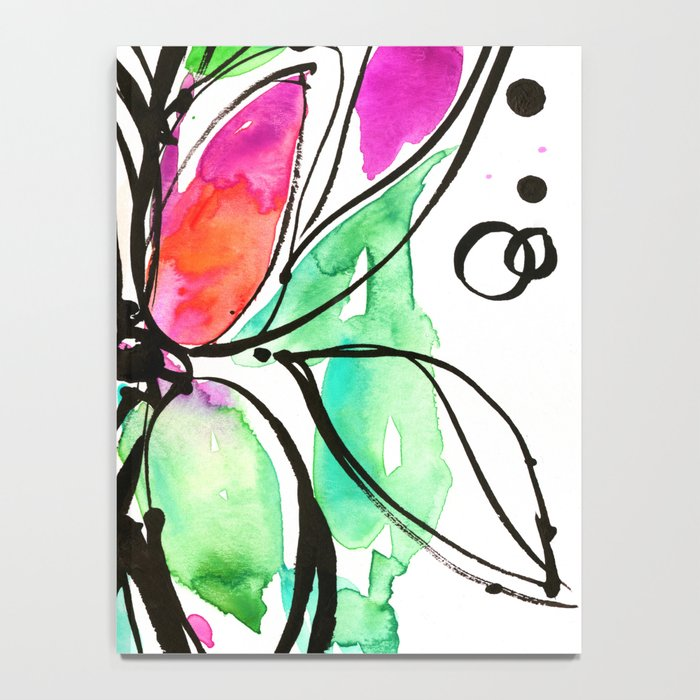 Ecstasy Bloom No. 1 by Kathy Morton Stanion Notebook