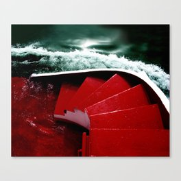 green-red Canvas Print