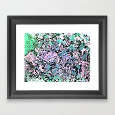 Washed Out Framed Art Print