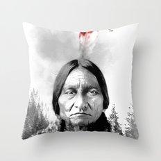 Native American II Throw Pillow
