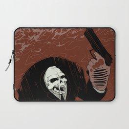 Monkey Skull Suit Laptop Sleeve