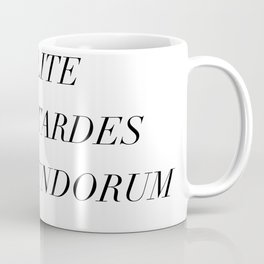 don't let the bastards grind you down Coffee Mug