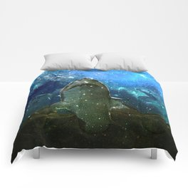 The Great White Marine Lava Lamp Comforters