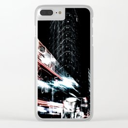 The Dark City Clear iPhone Case