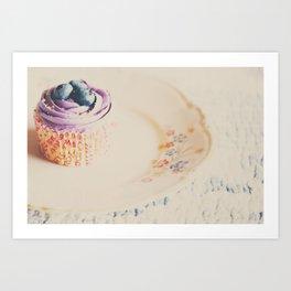 afternoon tea & a cupcake ... Art Print