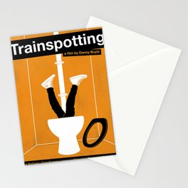 Trainspotting Ewan McGregor Stationery Cards