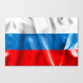 Russian Federation Flag Canvas Print