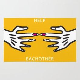 Help Eachother Rug