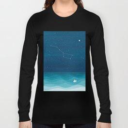 Big Dipper constellation Long Sleeve T-shirt