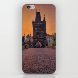 Charles Bridge Prague Czech Republic iPhone Skin