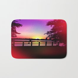Warm Summer Nights at Dusk Bath Mat