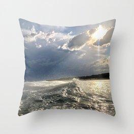 Lovely Sea Throw Pillow