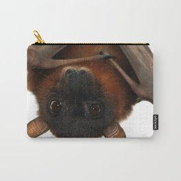 Little Red Flying Fox Hanging Out Carry-All Pouch