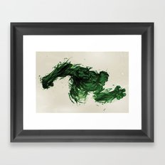 SMASH! Framed Art Print