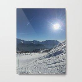 Sunny mountains Metal Print