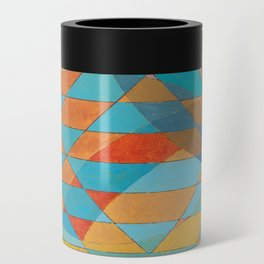 Triangle Pattern No. 11 Circles Can Cooler