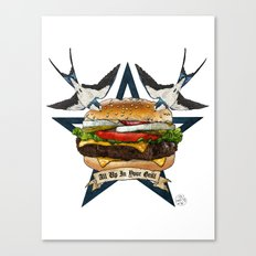 It's Time To Get Grill Canvas Print