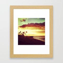last light. Framed Art Print