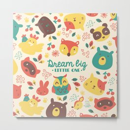 dream big little one Metal Print